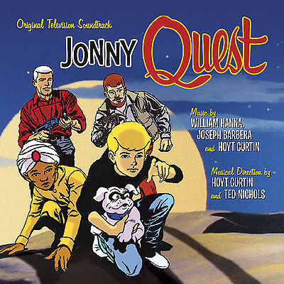 JONNY QUEST Hoyt Curtin 2-CD Set LA-LA LAND Soundtrack SCORE Hanna-Barbera NEW!