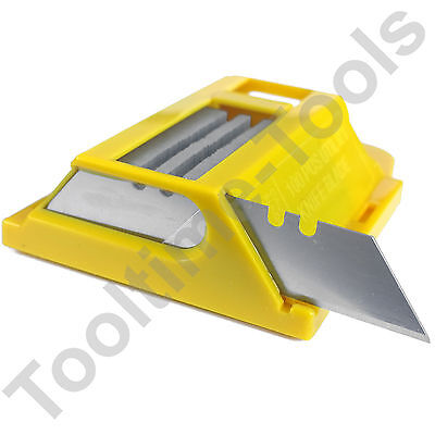 Utility Knife Blades/ 100 replacement sharp Stanley type Knives Trimming Blades
