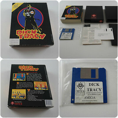 Dick Tracy A Titus Game for the Commodore Amiga Computer tested & working