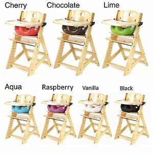 NEW Keekaroo Height High Chair With Infant Insert And Tray Tray Cover EBay