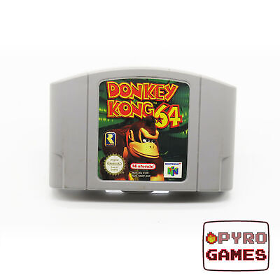 Donkey Kong 64 - Nintendo 64 - N64 - (Cartridge Only) - PAL