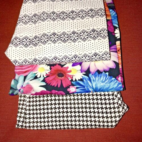 LOT 3pc Girls 10-12 Leggings X3 NEXT England, Is, Soje  All NEW