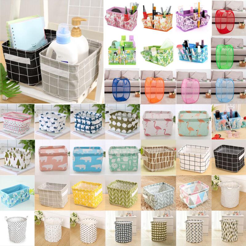 Foldable Laundry Storage Bags Basket Pop Up Clothing Bin Ham