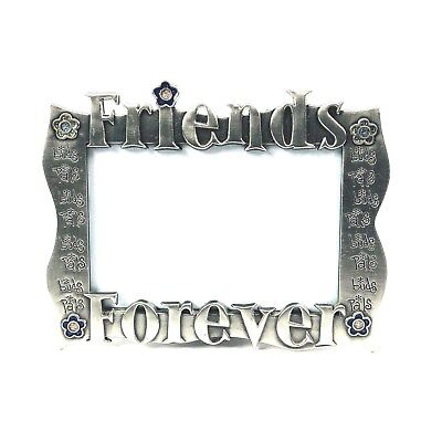 - Friends Forever Picture Frame 5 x 3.5 Inches Silver Cute Photo Memory Gift Decor