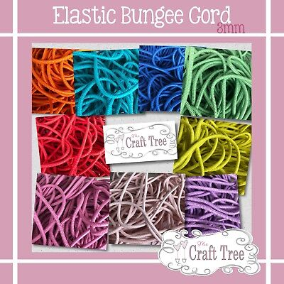 3mm Elastic Round Bungee Cord
