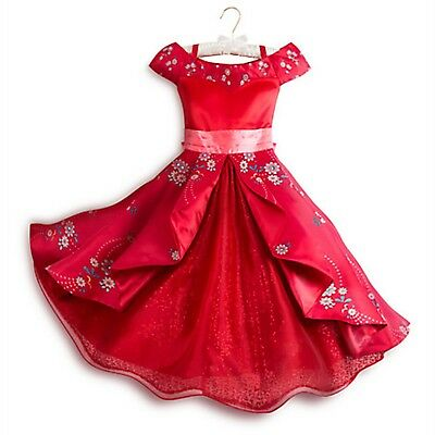 Disney Store Elena of Avalor Deluxe Dress Costume for Kids Party Halloween New](Party Costume Store)