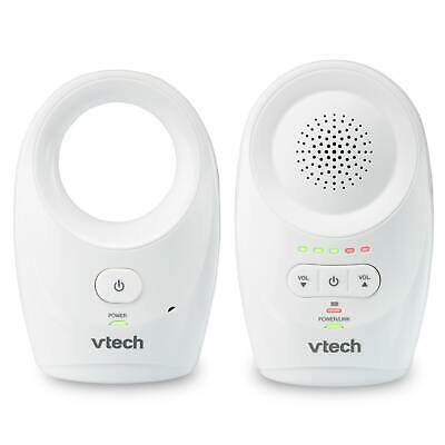 VTech DM1111 Enhanced Range Digital Audio Baby Monitor, 1 Parent Unit, White
