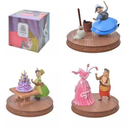 Disney Store Japan Sleeping Beauty  Flora Fauna Merryweather Set of 3 Figure F/S