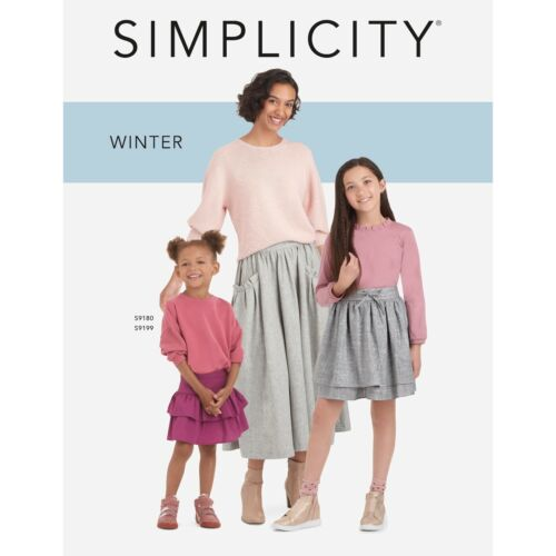 Counter Sewing Patterns Catalog Simplicity 2021 Winter Good Condition 843 Pages