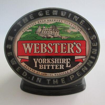 Yorkshire Bitter - Samuel Webster's Yorkshire Bitter Bar Top Header Lighted Sign - DAMAGED - AS IS