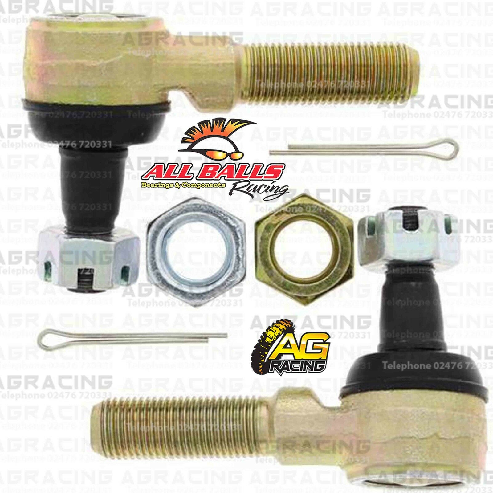 4c85455ac9 Details about All Balls Upgrade Tie Track Rod Ends Kit For Yamaha YFM 400  Kodiak 4WD 1998