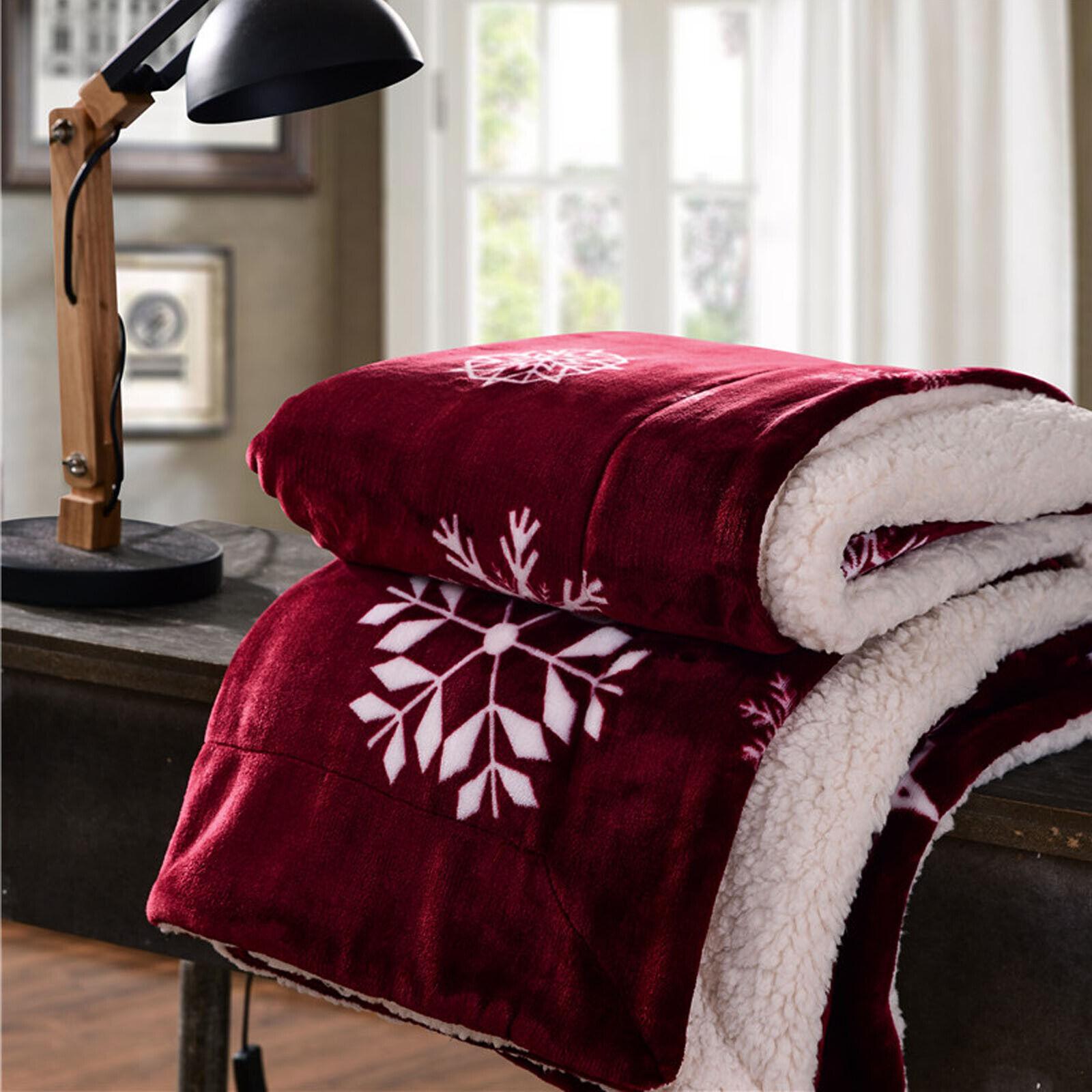christmas throw plush large all season blanket