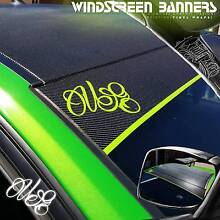 WINDSCREEN VINYL BANNERS Dianella Stirling Area Preview