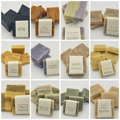 All Natural Bar Soap Handmade Choose Scent Best Frenzy