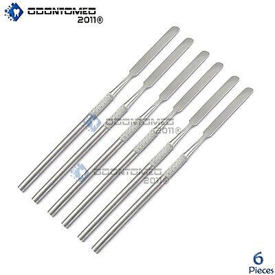 Odm 6 Pcs Cement Spatulas Dental Instruments