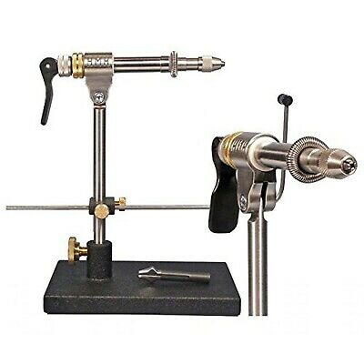 HMH CX - CROSS-OVER FLY TYING TUBE VISE w/ Bobbin Rest & Omni JAW. Hmh Fly Tying Vise