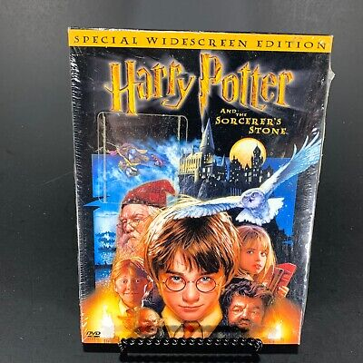 HARRY POTTER AND THE SORCERER'S STONE DVD **NEW**  Special Widescreen Edition FS
