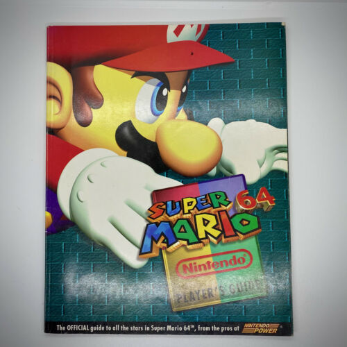 EXC Super Mario 64 Official Nintendo Power Player