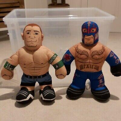 Brawlin Buddies Bundle / John cena & Ray Mysterio / WWE Talking Plush / WWF