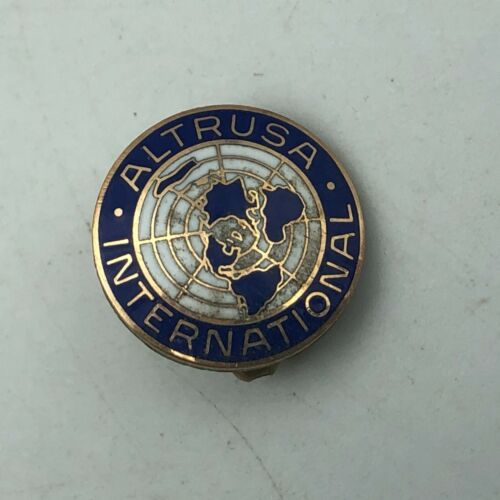Vintage Altrusa International Lapel Pin Non Profit Organization  Q3