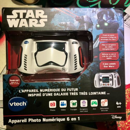 VTech+Star+Wars+Stormtrooper+Digital+Camera+-+Brand+New+%26+Boxed+-+French+Version