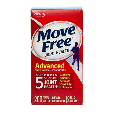 Move Free Advanced, 170 tablets - Joint Health Supplement wi