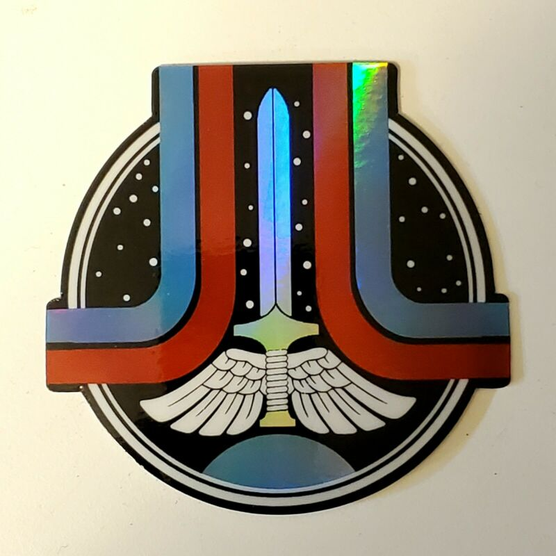 The Last Starfighter logo sticker decal fan design holographic sci-fi 80s movie