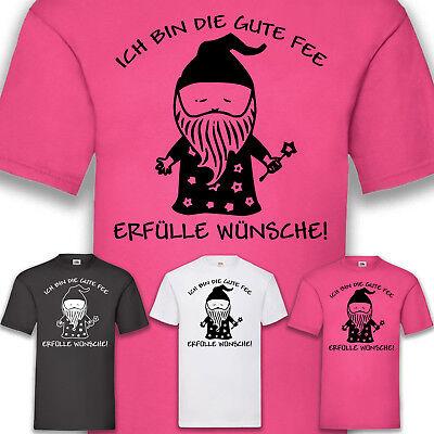 Kostüm Karneval Fasching Gute Fee Herren T-Shirt Funshirt Shirt Spaß Man S-5XL ()