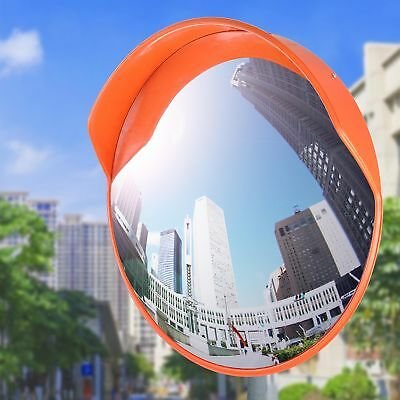 24 Wide Angle Security Convex Pc Mirror Outdoor Road Traffic Driveway Safety