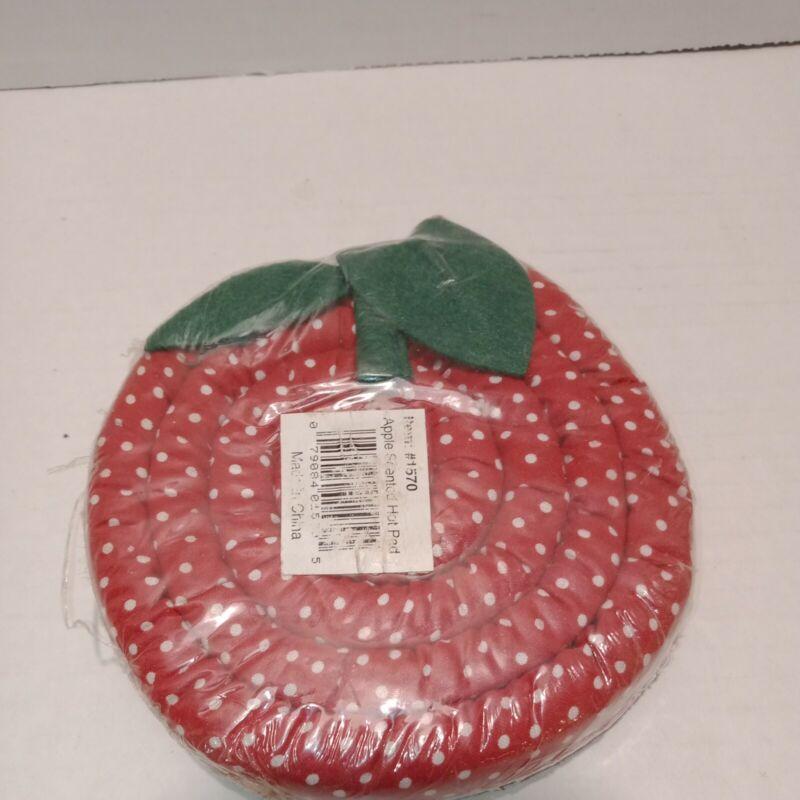 """Vintage Scented Strawberry Design And Scent 4.5"""" NOS Trivet"""