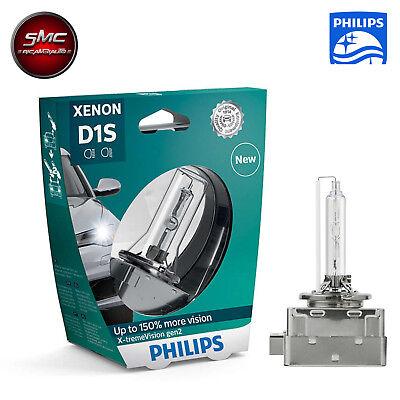 Philips D1S X-treme Vision bis zu 150% mehr Sicht Xenon Brenner 85415XV2S1 1st.