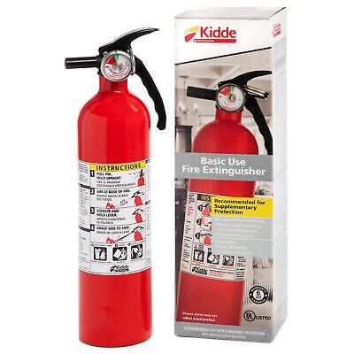 Kidde Full Home Fire Extinguisher 2.5lb 1-a 10-bc Kid466142mtl