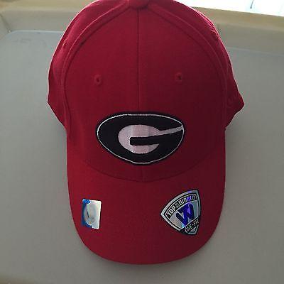 University Of Georgia Bulldogs Cap Hat One Fit Top Of The World OSFA