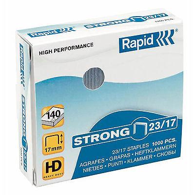 Rapid® 24869900 Heftklammern 23/10mm Strong, verzinkt, 1000 Stück