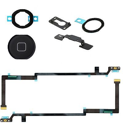 NEW Replacement Black Home Button Flex Cable With Seal & Bracket For iPad Air