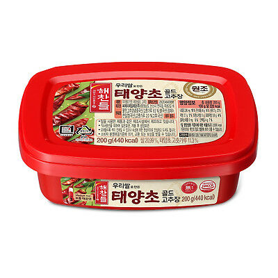 HAECHANDLE Taeyangcho Gold Gochujang Korean Pepper Sauce 200g, korean food