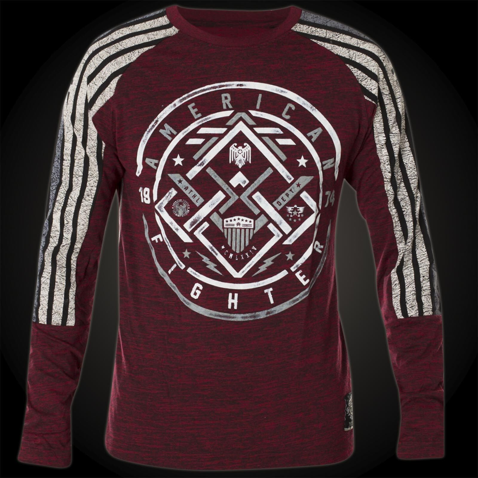 439b2f64d83 Details about American Fighter by Affliction Thermal Gilcrest Wine red