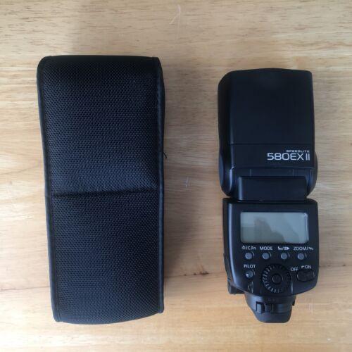 Canon 580EX II Speedlite Shoe Mount Flash