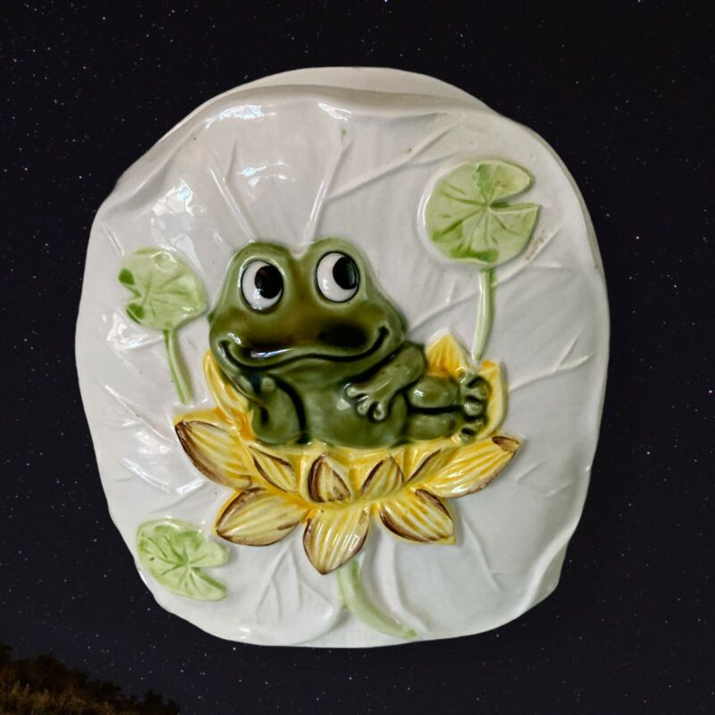Vintage Neil The Frog Sears Roebuck Napkin Holder 1978 Excellent Condition