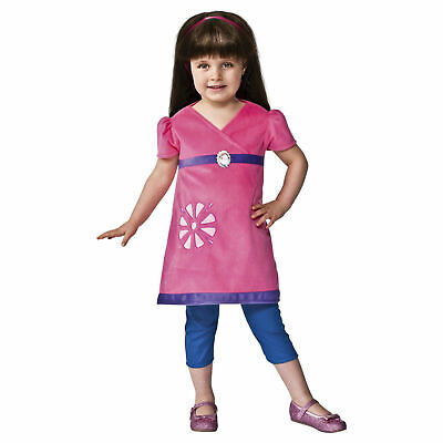Toddler's Girls Dora The Explorer And Friends Halloween Costume Dress - Dora The Explorer Halloween Costume Toddler