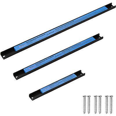 3er Set Magnetleiste Werkzeughalter Werkzeugleiste Magnet Werkzeug 48/37/23 cm