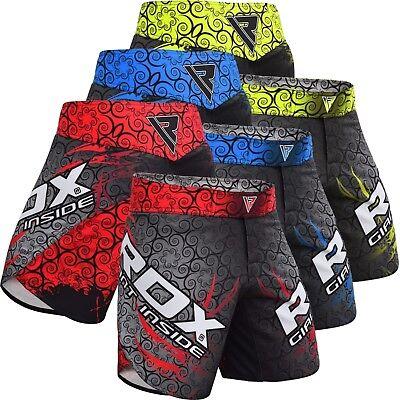 00ae20d4b223 RDX MMA Shorts Boxing Muay Grappling Thai Mens Cage Fight Trunks Kick R11