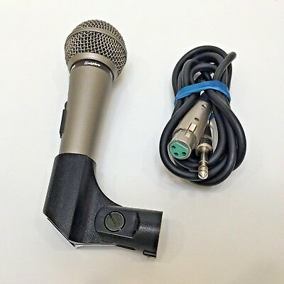 SHURE Unidirectional Dynamic Microphone, Handle & Cord Model 587SB-LC