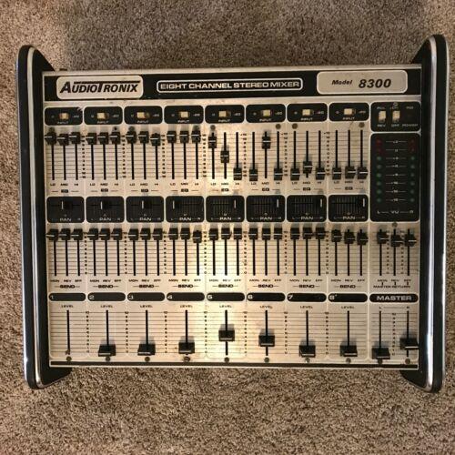 Vintage Audio-Tronix Stereo Mixer Model 8300