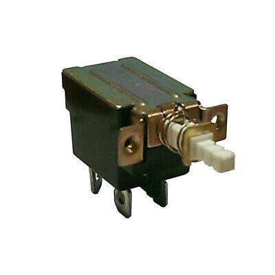 Power Switch Push Button Io Io On Off Latching Dpst Kdc-a04 Cc 10pcs