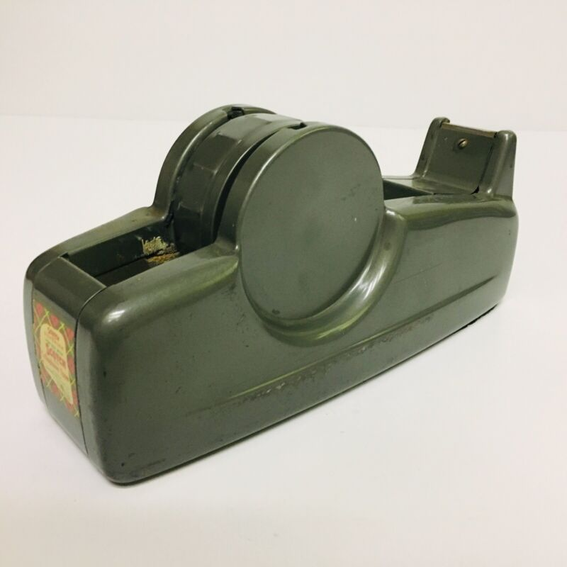 Vintage Mid Century Scotch Brand Cellophane Tape Dispenser Industrial Model C-21