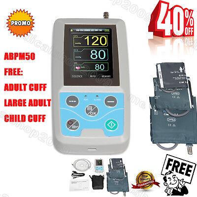 Contec Abpm50 Arm 24h Nibp Ambulatory Blood Pressure Monitorpc Software3 Cuffs