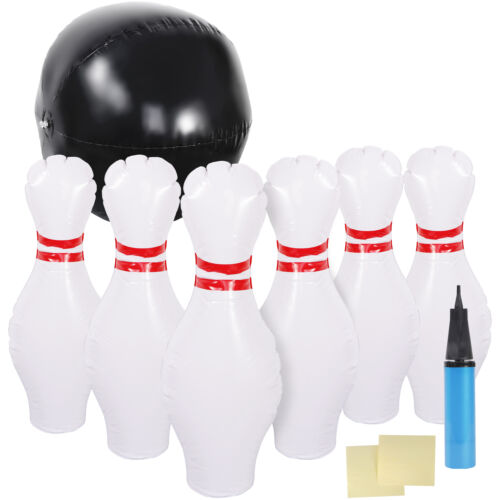 Kids Size Foam Bowling Set Soft Sturdy Bowling Set for Kids Indoor/Outdoor Games Action Figures
