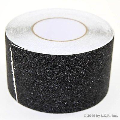 "4"" x 60' Non Skid Tape Black Roll Safety Anti Slip Tape Sticker Grip Safe Grit"