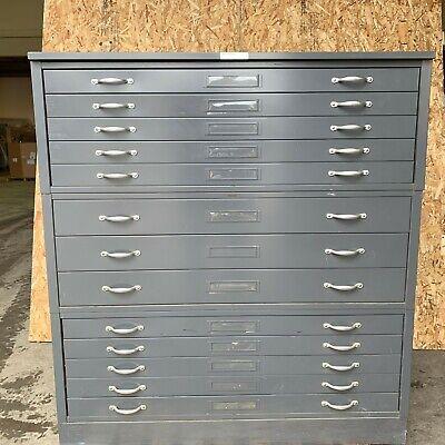 Hamilton 13 Drawer Cabinet Chest File Tool Storage Plans Drawing 6j1-j6485-69